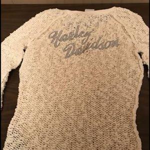 Women's Harley Davidson sweater size s NWT